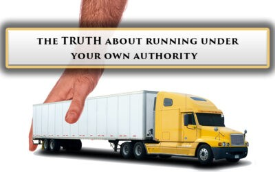 The Truth About Running Under Your Own Authority