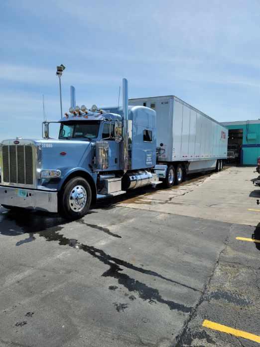 Gerald's truck