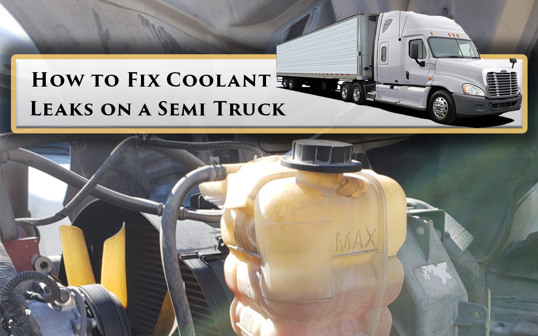 How to fix coolant leaks